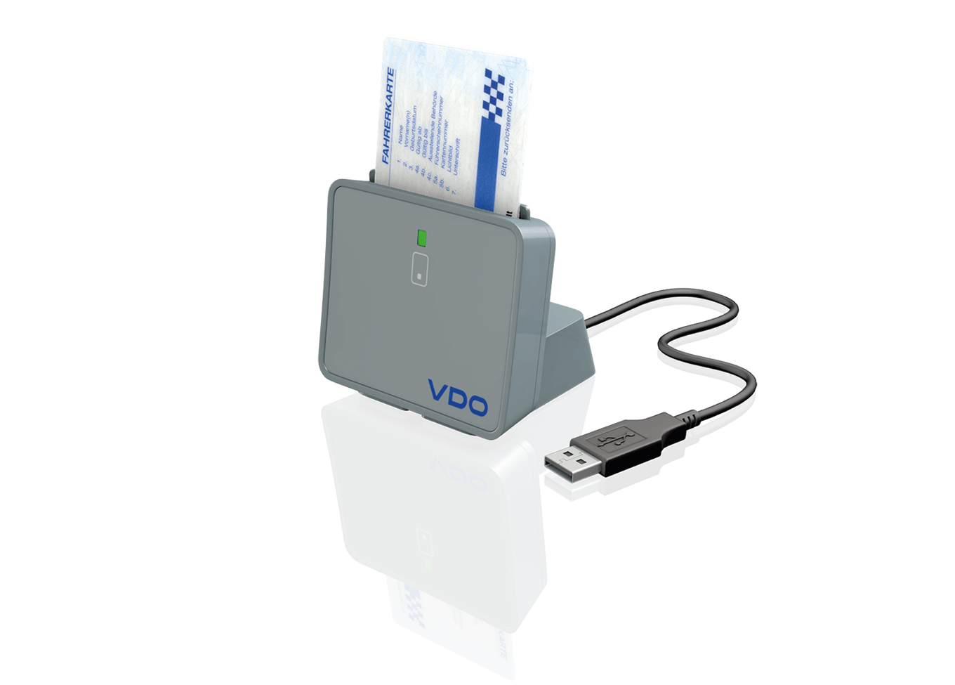 The Compact Reader for Tachograph Cards